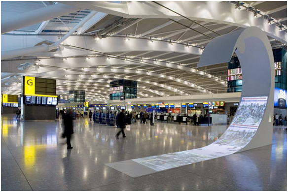 Aeroporto Inglese di Heathrow Tiandy