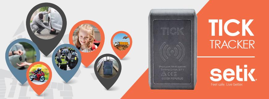 Ticke Tracker localizzatori gps