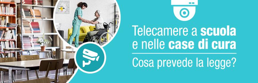 Telecamere a scuola
