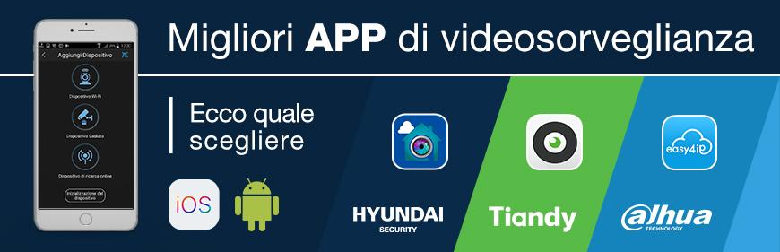 Migliori app di videosorveglianza