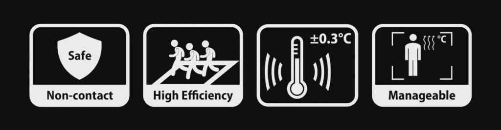 Telecamere termiche misurazione temperatura