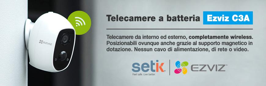 Telecamera a batteria Ezviz