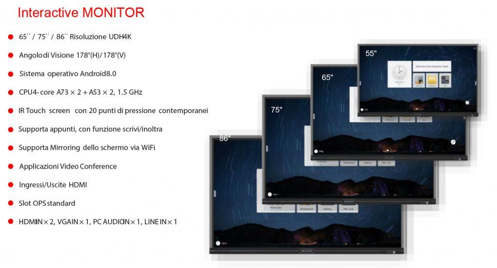 Hikvison monitor risoluzione